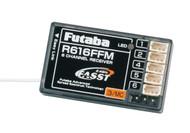Futaba R616FFM 2.4GHz FASST Micro Park Flyer Rx 6Ch 18MZ 14SG 6EX # FUTL7626