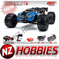 ARRMA 1/8 Kraton 6S 4WD BLX Speed Monster Truck RTR Blue # ARA106040T2