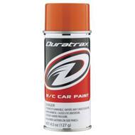 Duratrax DTXR4296 PC296 Polycarb Candy Orange Spray Can RC Bodies 4.5oz