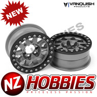 Vanquish Products VPS07758 METHOD 1.9 RACE WHEEL 101 GREY ANODIZED V2