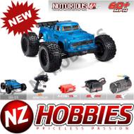 ARRMA 1/8 Notorious 6S 4WD BLX Stunt Truck BLUE # ARA106044T2