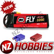 Venom 30C 3S 3200mAh 11.1V Graphene LiPo Battery w/ Universal Plug