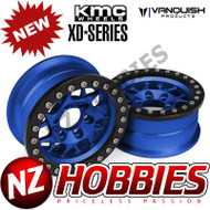 Vanquish Products VPS07714 KMC 1.9 XD127 BULLY BLUE ANODIZED