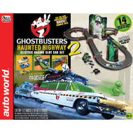 AutoWorld Ghostbusters Haunted Highway 2 HO Slot Car Race Set Aw for AFX SRS317