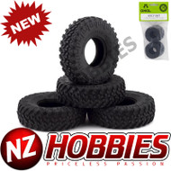 Axial AXI31567 SCX24 1.0 Nitto Trail Grappler M/T Tires (4)