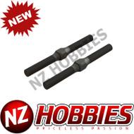 ARRMAAR330542 Steel Turnbuckle M4x48mm Black (2) : Typhon 4x4 3S