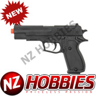 UKARMS P2220BAG SPRING PISTOL BLACK HANDGUN