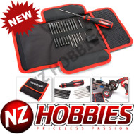 Traxxas 8710 Tool Kit w/ Pouch 1.5 / 2.0 / 2.5 / 3.0 Hex 2.0mm, 2.5mm, 3.0mm Ball End