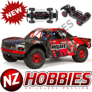 ARRMA ARA106058T2 MOJAVE 6S BLX 4WD Desert Truck RTR 1/7 SCALE, Red/Black
