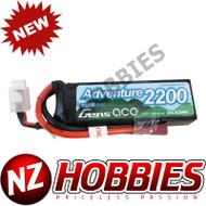 Gens Ace Adventure 2200mAh 3S1P 11.1V 50C Lipo Battery w/ Deans Plug RC Crawler