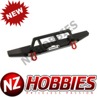 AXIAL SCX10 II ALLOY SCALE FRONT BUMPER, BLACK/REPLACES AX31571