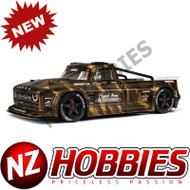 ARRMA ARA410002 INFRACTION 6S BLX PAINTED DECALED TRIMMED BODY (MATTE BRONZE CAMO)