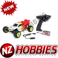 Losi LOS01015T1 1/18 Mini-T 2.0 2WD Stadium Truck RTR, Red/White