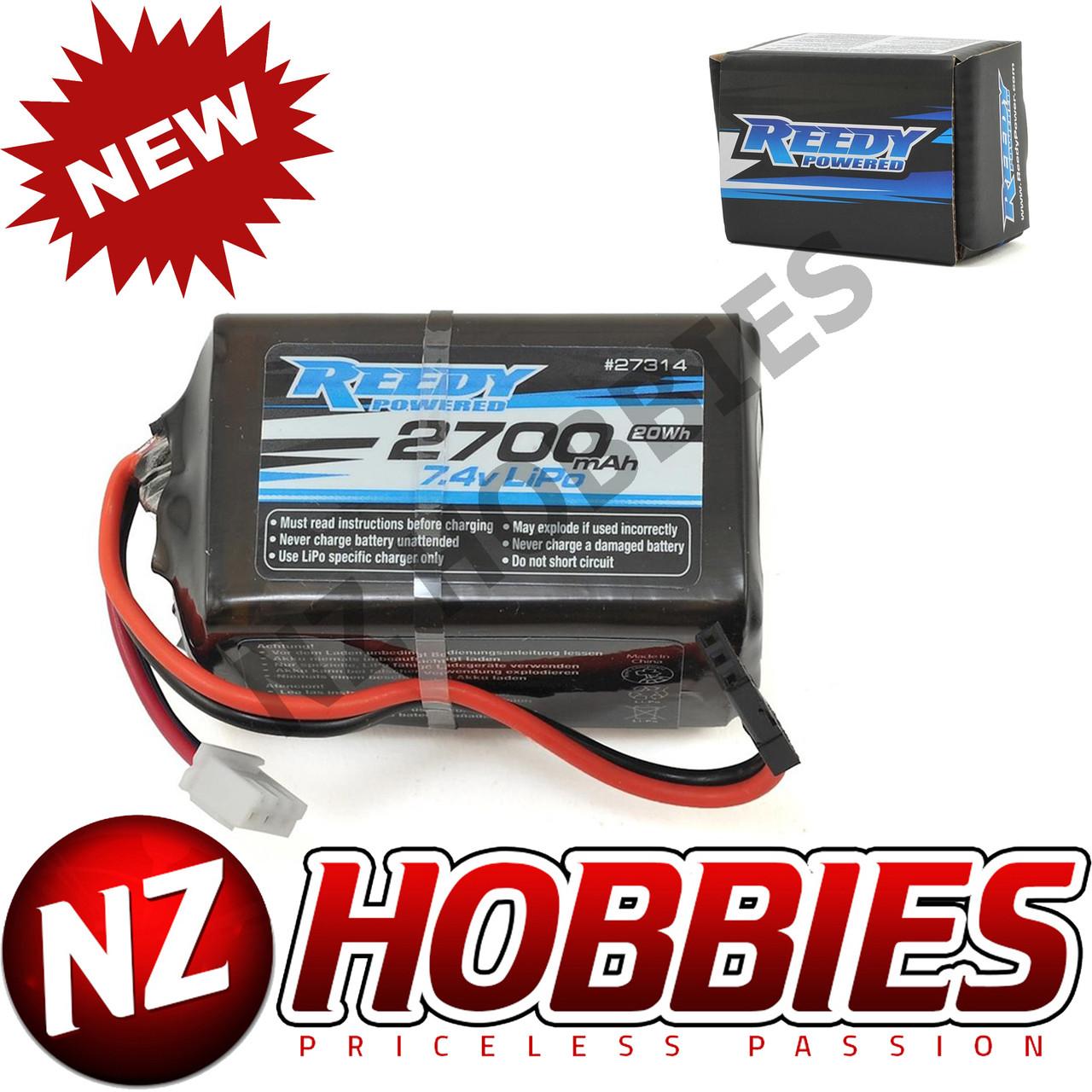 NEW Spektrum 7.4V 2S 1000mAh 15C Rx LiPo Batt Pack w//EC2 SPMB1000LPRX