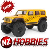Axial 1/24 SCX24 2019 Jeep Wrangler JLU CRC Rock Crawler 4WD RTR, YELLOW # AXI00002T2