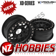 Vanquish Products VPS07710 KMC 1.9 XD127 BULLY BLACK ANODIZED