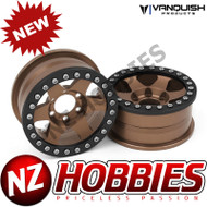 Vanquish Products VPS07769 METHOD 1.9 RACE WHEEL 310 BRONZE ANODIZED