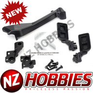 Traxxas TRA8020 Mirrors, Side (L/R)/ Snorkel/ Mounting hardware (Fits #8011 Body)
