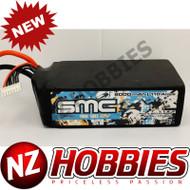 SMC RACING 80110-6S2P True Spec DV 22.2V 8000mAh 110Amps/75C w/ G10 plates EC5