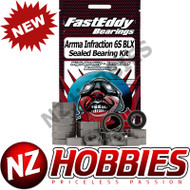 Fast Eddy Sealed Bearing Kit - Arrma Infraction 6S BLX # TFE5842