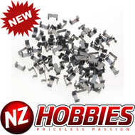 AFX 1014 HO Scale Track Clips - 100 Pack