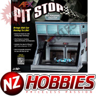 AFX Racing AFX21070 Pit Stop Holographic Theater : HO Slot Car Set