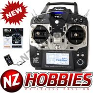 Futaba T8JA 2.4GHz S-FHSS Airplane Spec Radio System w/ R2008SB Receiver