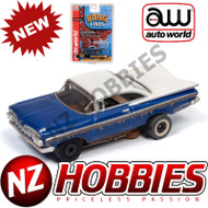 Auto World Thunderjet R26 1959 Chevrolet Impala HO Scale Slot Car