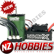 Castle Creation CSE010016100 Mamba X SCT Pro, Sensored, 25.2V WP 1410-3800Kv