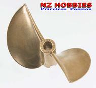 Aqua Craft GrimRacer 65x100 Copper-Beryllium Titanium Propeller # AQUB9785