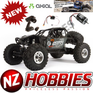 Axial AXI03016T2 1/10 RR10 Bomber 4WD Rock Racer RTR, Savvy