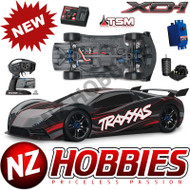Traxxas XO-1 Electric 4WD On-Road 1/7 RTR Sedan Black w/2.4GHz TQi Radio