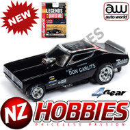 Auto World 4Gear R22 1971 Dodge Charger Big Daddy HO Slot Car SC342