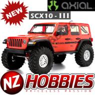 Axial AXI03003T2 SCX10 III Jeep JL Wrangler w/Portals 1/10th RTR Orange