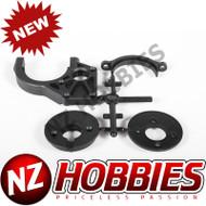AXIAL 2-Speed Hi/Lo Tranny Motor Mount Yeti # AX31106