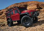 Traxxas 82056-4 TRX4 Scale & Trail Red Crawler Defender 4WD RTR w/ TQi Radio