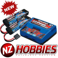 Traxxas 2991 EZ-Peak Dual Charger w/ Two 7600mAh 25C 2S iD LiPo Batteries