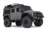 Traxxas 82056-4 TRX4 Scale & Trail SILVER Crawler Defender 4WD RTR w/ TQi Radio