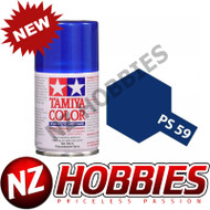 TAMIYA TAM86059 PS-59 Dark Metallic Blue 100ml Spray Can