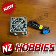 """NZHB/GCRC Custom JayTee """"MEGA FLIPS"""" RC Cooling Fan (ONE FAN) SILVER ON SILVER"""