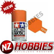 TAMIYA TAM85012 Spray Lacquer TS-12 Orange