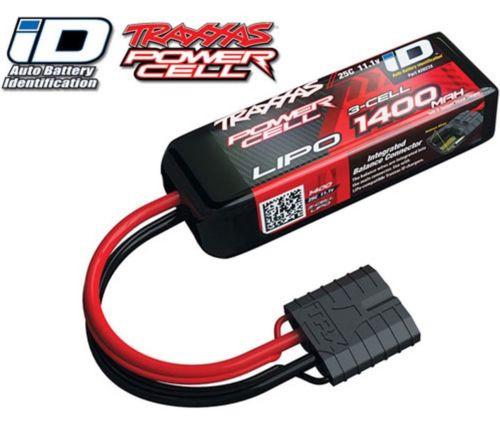 Traxxas 2823X 3S 11 1V 1400mAh 25C Lipo Battery 1/16 E-Revo Summit Slash  Rally