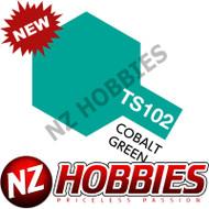 TAMIYA TAM85102 Spray Lacquer TS-102 Cobalt Green