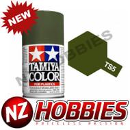 TAMIYA TAM85005 Spray Lacquer TS-5 Olive Drab