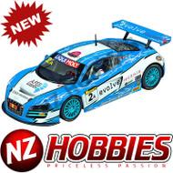 "Carrera 23840 Audi R8 LMS ""Fitzgerald Racing, No.2A"", Digital 124 w/Lights"