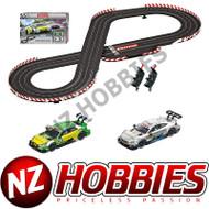 Carrera 20025234 DTM Speed Duel Evolution Analog Electric Slot Car Racing Track Set 1:32 Scale