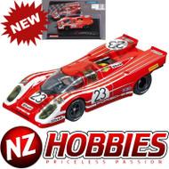 Carrera 20027569 Porsche 917K Salzburg No.23 1970 Evolution Analog Slot Car 1:32 Red