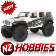 Axial 1/24 SCX24 2019 Jeep Wrangler JLU CRC Rock Crawler 4WD RTR, White # AXI00002T1