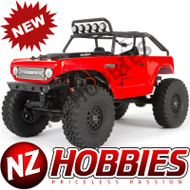 Axial 1/24 SCX24 Deadbolt 4WD Rock Crawler Brushed RTR Red # AXI90081T1