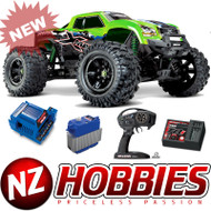 Traxxas 77086-4 X-Maxx 4WD 8s-Capable Brushless Electric Monster (GREEN)